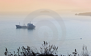 Cargo Ship 2 Royalty Free Stock Photos - Image: 7724688