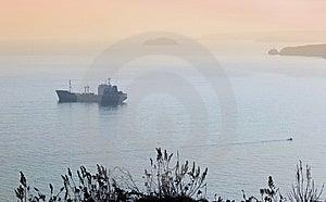 Cargo Ship 2 Royalty Free Stock Photos - Image: 7724688