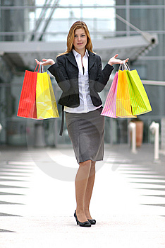 Shopaholic Stock Photo - Image: 7727940
