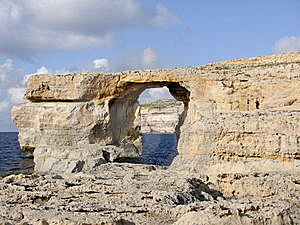 Azure Window Royalty Free Stock Images - Image: 7727959