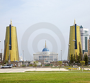Astana Presidential Palace Royalty Free Stock Photography - Image: 7730507