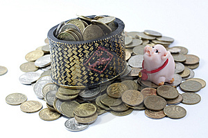Easy To Spend Hard To Earn Royalty Free Stock Image - Image: 7731256