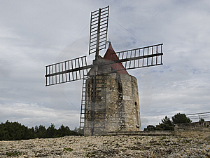 Fontvielle - Daudet's Windmill Royalty Free Stock Photography - Image: 7731667