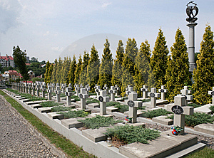 Military Burial Place Stock Photo - Image: 7732080