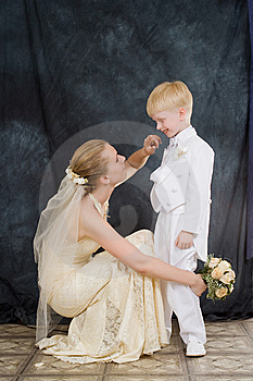 The Woman And The Child Stock Images - Image: 7732614