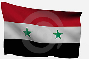 Syria 3d Flag Royalty Free Stock Photography - Image: 7733337