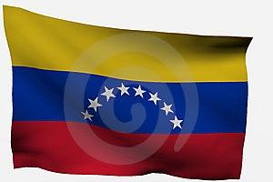 Venezuela 3d Flag Stock Image - Image: 7733411