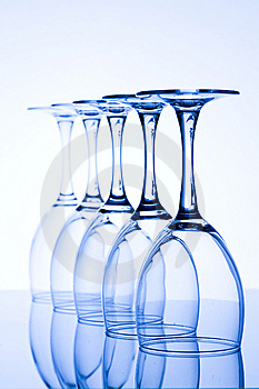 Blue Glass Royalty Free Stock Photos - Image: 7733768