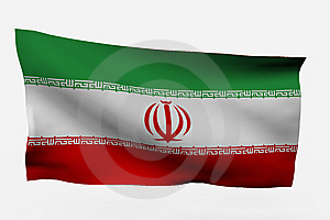 Iran 3d Flag Royalty Free Stock Photography - Image: 7733837