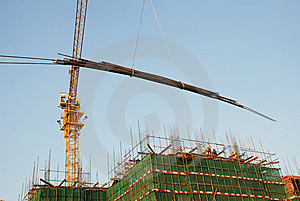 The Construction Site Stock Photos - Image: 7733953
