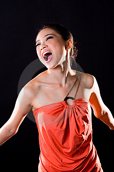 Stylish Fashion Asian Young Woman Stock Photo - Image: 7734730