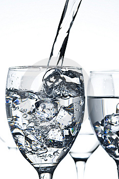 Glasses With Water Stock Images - Image: 7735554