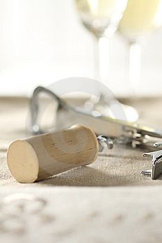 Cork Screw Royalty Free Stock Photography - Image: 7735557