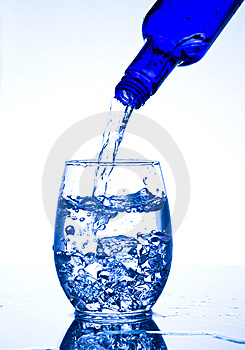 Glasses With Water Royalty Free Stock Photo - Image: 7735565