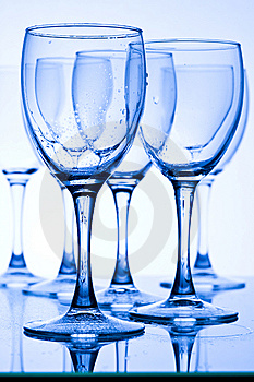Glasses With Water Stock Photography - Image: 7735652