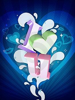 I Love You Illustration Stock Photo - Image: 7735760