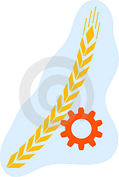 Ear And Pinion Royalty Free Stock Images - Image: 7735769