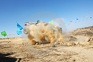 De Jeepconcurrentie Royalty-vrije Stock Fotografie - Afbeelding: 7737127
