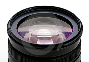 Objective With Lense Reflections Royalty Free Stock Images - Image: 7740989