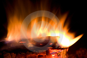 Fire Flame Royalty Free Stock Images - Image: 7741379