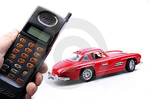 Old Simulation Mobile Phone. Royalty Free Stock Photography - Image: 7741837
