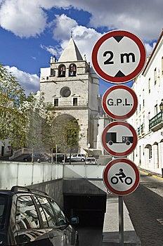 Underground Parking Entrance Royalty Free Stock Photo - Image: 7741865