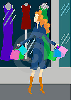 Shopping Royalty Free Stock Image - Image: 7741926