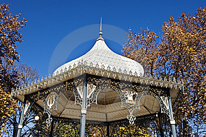Bandstand Detail Stock Photos - Image: 7741983