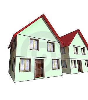 Isolated House Stock Photo - Image: 7742300