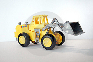 Toy Front Loader Royalty Free Stock Photo - Image: 7742395