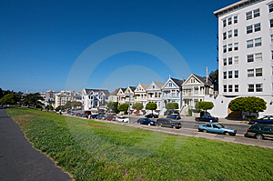 Alamo Square San Francisco Stock Image - Image: 7743531