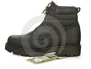 Rough Boot Royalty Free Stock Photography - Image: 7743657