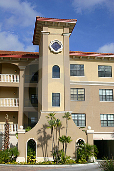 Front Of Condo In Tropics Stock Photography - Image: 7743802