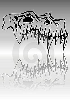 Skull Of Demon Stock Photo - Image: 7744850