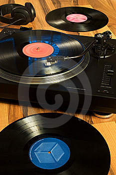 Vinyl Record Royalty Free Stock Photos - Image: 7745168