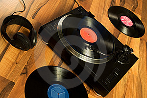 Vinyl Record Stock Images - Image: 7745174