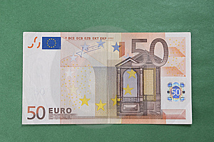 Fifty Euro Royalty Free Stock Image - Image: 7749166