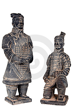 Terra-cotta Warriors Royalty Free Stock Images - Image: 7750219