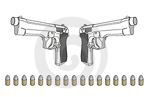 Guns Stock Images - Image: 7751844