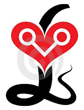 Heart Snake Stock Images - Image: 7752764