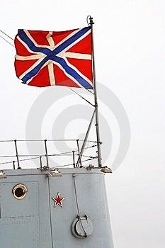 Saint Petersburg, Cruiser Aurora (detail) Stock Photo - Image: 7759340