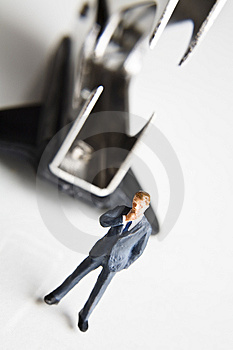 Risky Business Royalty Free Stock Photo - Image: 7759995