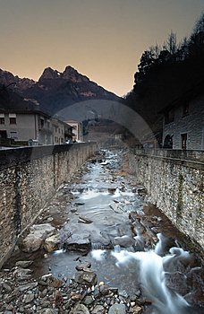 Mountain Stream, Apuan Alps Royalty Free Stock Photos - Image: 7759998