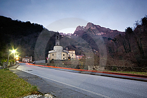Church In The Apuan Alps Royalty Free Stock Photography - Image: 7760077