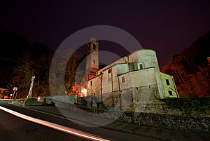 Church In The Apuan Alps Stock Photos - Image: 7760113