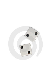 Dice Two Stock Images - Image: 7760154