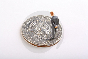 Half Dollar Stock Photo - Image: 7762030