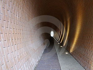 Pedestrian Tunnel Royalty Free Stock Photography - Image: 7764947