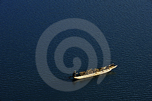 The Boat Is Going Royalty Free Stock Images - Image: 7764969