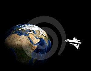 Space Vehicle Stock Images - Image: 7765544